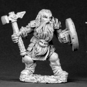 2607 Bjorn, Male Dwarf Warrior