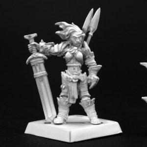 60003 Amiri, Iconic Female Human Barbarian