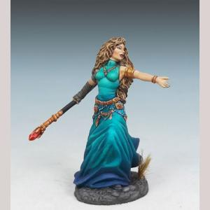 DSM7308 Female Mage with Staff