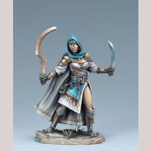 DSM7494 Female Eastern Warrior, Duel Wield