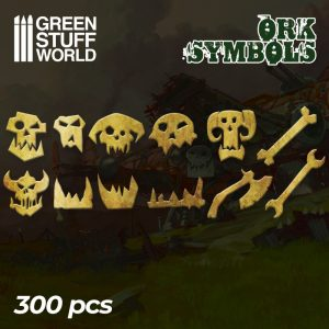 Etched Brass - Ork Runes and Symbols