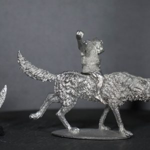 TMM88541 Goblin Wolf Rider in Chainmail